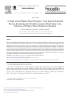 Scholarly article on topic 'A Study on the Primary School Teachers' View upon the Essential Factors Determining the (Non)Involvement of the Family in the Education of Primary School Students in Romania'