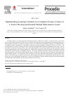 Scholarly article on topic 'Implementing Learning Contracts in a Computer Science Course as a Tool to Develop and Sustain Student Motivation to Learn'