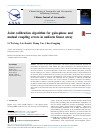 Joint calibration algorithm for gain-phase and mutual coupling