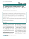 Scholarly article on topic 'Tox-Database.net: a curated resource for data describing chemical triggered in vitro cardiac ion channels inhibition'