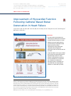 Scholarly article on topic 'Improvement of Myocardial Function Following Catheter-Based Renal Denervation in Heart Failure'