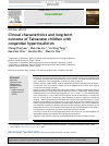 Scholarly article on topic 'Clinical characteristics and long-term outcome of Taiwanese children with congenital hyperinsulinism'