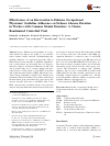 Scholarly article on topic 'Effectiveness of an Intervention to Enhance Occupational Physicians' Guideline Adherence on Sickness Absence Duration in Workers with Common Mental Disorders: A Cluster-Randomized Controlled Trial'