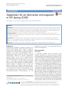 Scholarly article on topic 'Argatroban for an alternative anticoagulant in HIT during ECMO'
