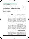 Scholarly article on topic 'Toward a new route control model for multidomain optical networks'