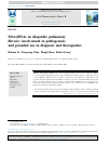 Scholarly article on topic 'MicroRNAs in idiopathic pulmonary fibrosis: involvement in pathogenesis and potential use in diagnosis and therapeutics'