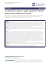 Scholarly article on topic 'A multicenter study on Leigh syndrome: disease course and predictors of survival'