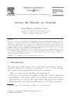 Scholarly article on topic 'Arrows, like Monads, are Monoids'