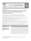 Scholarly article on topic 'Association between knee alignment, body mass index and physical fitness variables among students: a cross-sectional study'