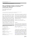 Scholarly article on topic 'Effect of methanogenic substrates on anaerobic oxidation of methane and sulfate reduction by an anaerobic methanotrophic enrichment'