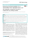 Scholarly article on topic 'Enhancing the thermostability of α-L-rhamnosidase from Aspergillus terreus and the enzymatic conversion of rutin to isoquercitrin by adding sorbitol'