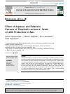Scholarly article on topic 'Effect of Aqueous and Ethanolic Extracts of Pimpinella anisum L. Seeds on Milk Production in Rats'
