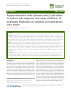 Scholarly article on topic 'Supplementation with xylanase and β-xylosidase to reduce xylo-oligomer and xylan inhibition of enzymatic hydrolysis of cellulose and pretreated corn stover'