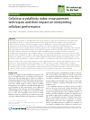 Scholarly article on topic 'Cellulose crystallinity index: measurement techniques and their impact on interpreting cellulase performance'