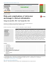 Scholarly article on topic 'Risks and complications of miniscrew anchorage in clinical orthodontics'