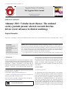 Scholarly article on topic 'Almanac 2011: Valvular heart disease. The national society journals present selected research that has driven recent advances in clinical cardiology'