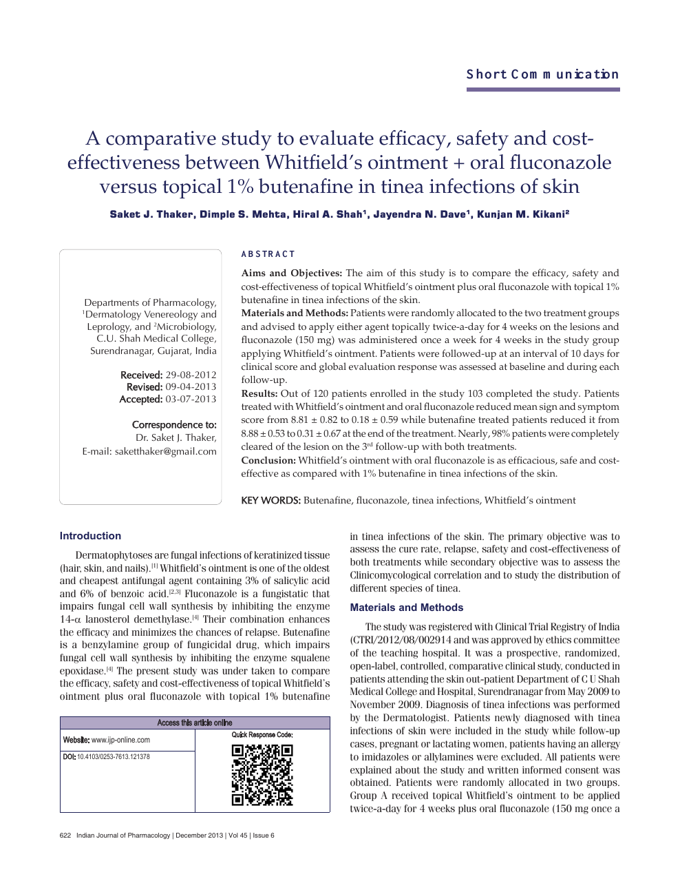 A comparative study to evaluate efficacy, safety and cost