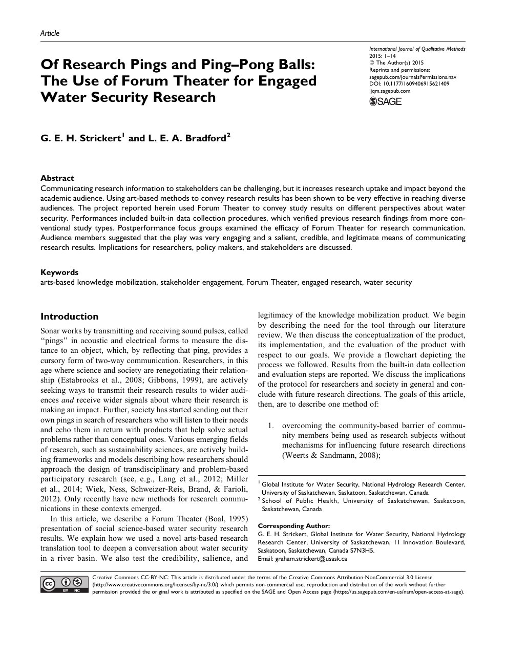 Usask research paper planner presentation design