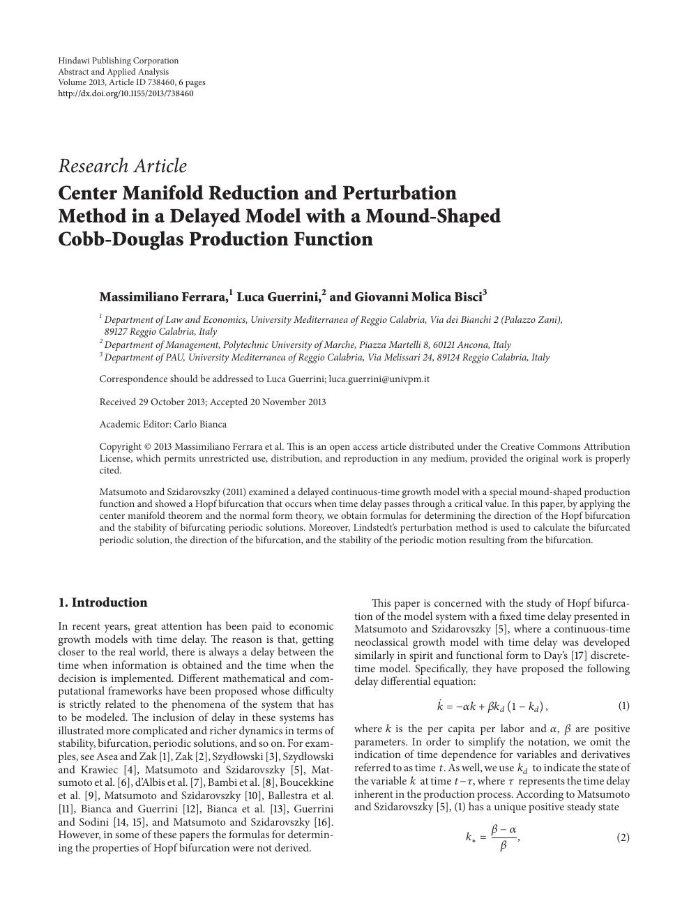 Introduction To Perturbation Methods Pdf