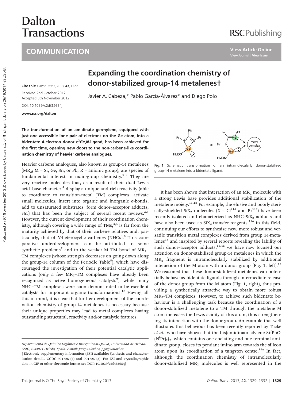 Awe Inspiring Expanding The Coordination Chemistry Of Donor Stabilized Group 14 Wiring Cloud Hisonuggs Outletorg