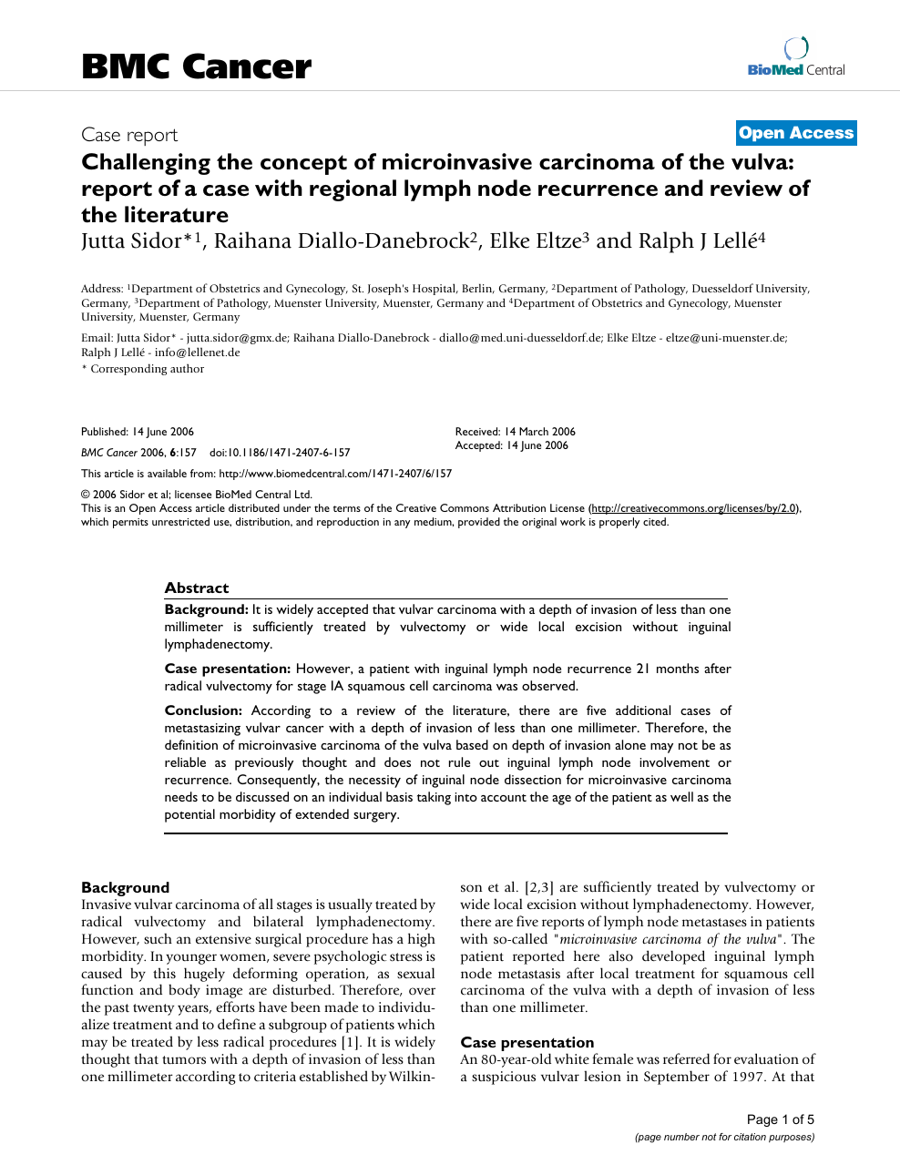Challenging the concept of microinvasive carcinoma of the vulva