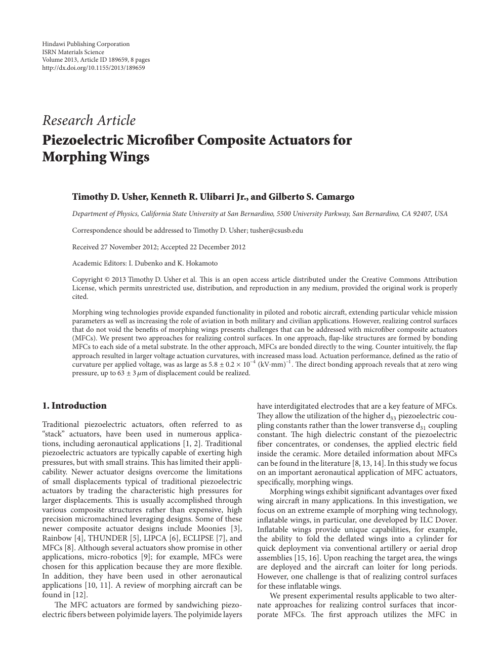 piezoelectric microfiber composite actuators for morphing wingsSmall Piezoelectric Application Will It Work Physics Forums The #15