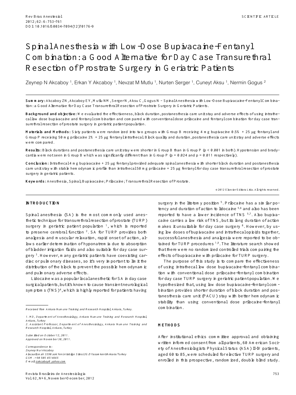Operacion de prostata turp