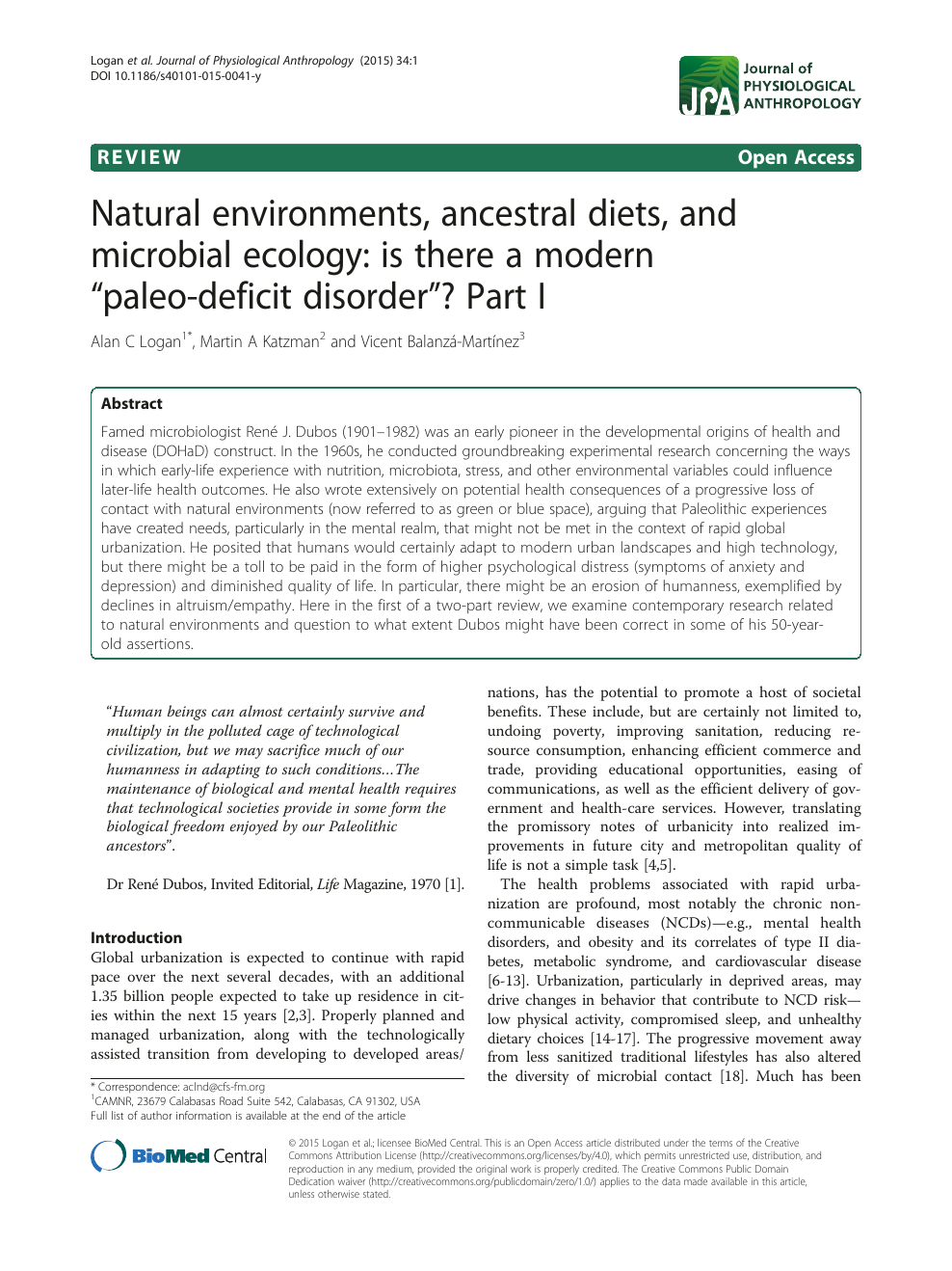 Natural environments, ancestral diets, and microbial ecology