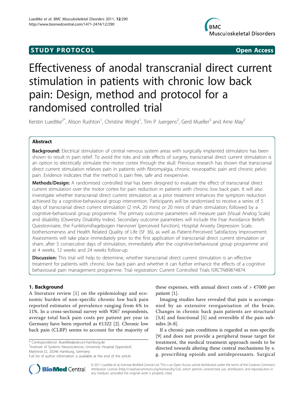 anodal direct current Effectiveness of transcranial zVSUpGqLM