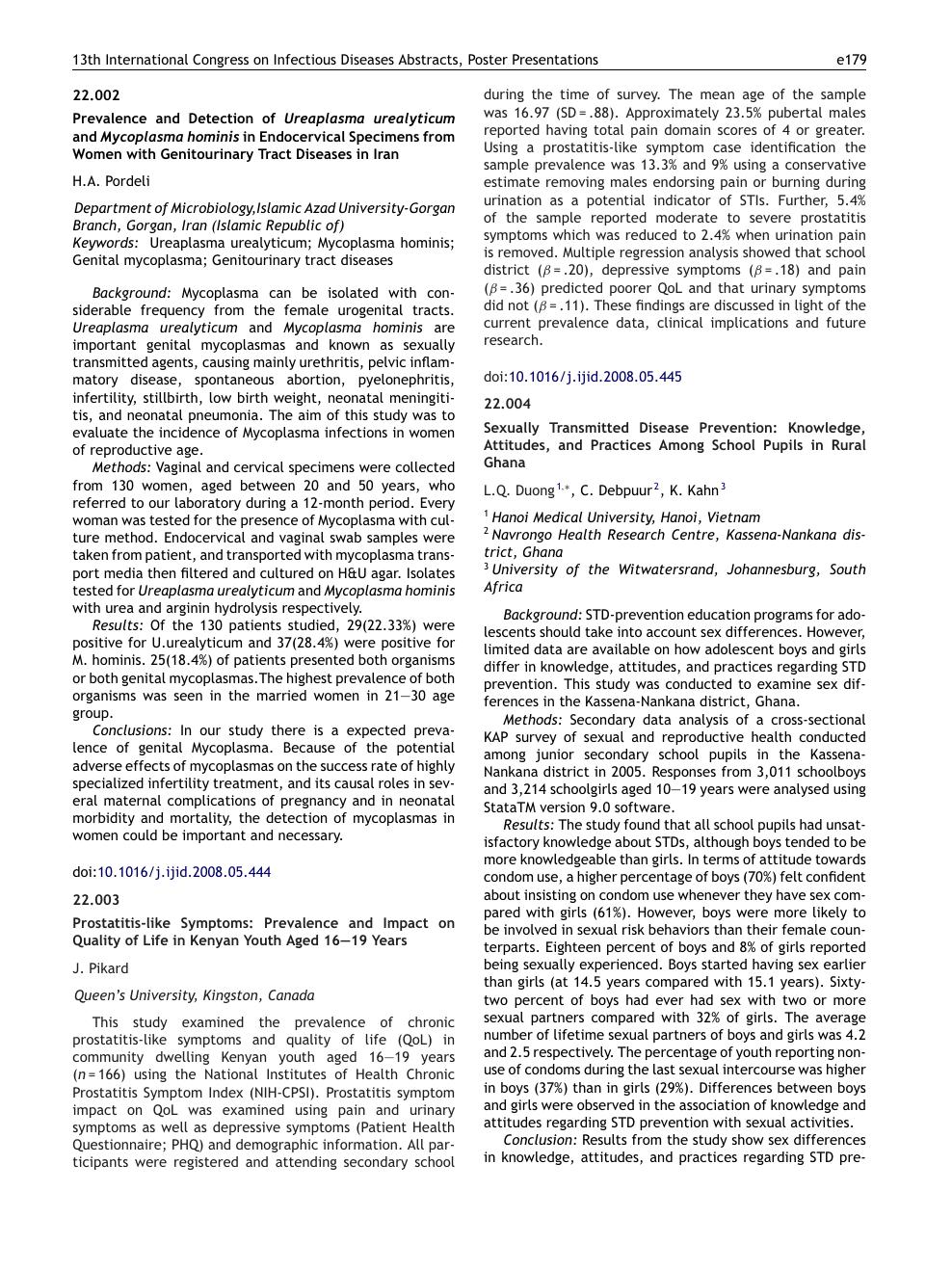 Prostatitis és mycoplasma ICD 10 krónikus prosztatitis