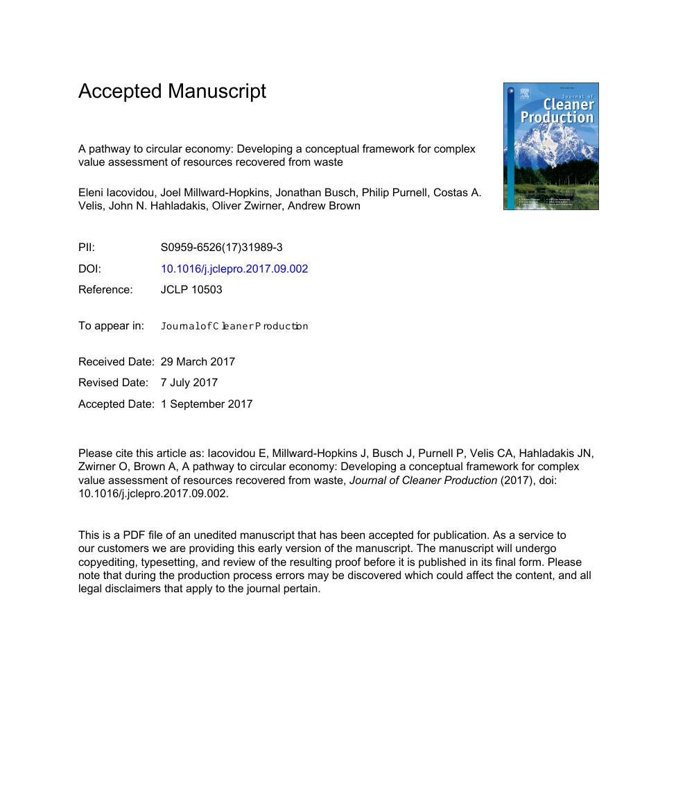 conceptual framework research paper