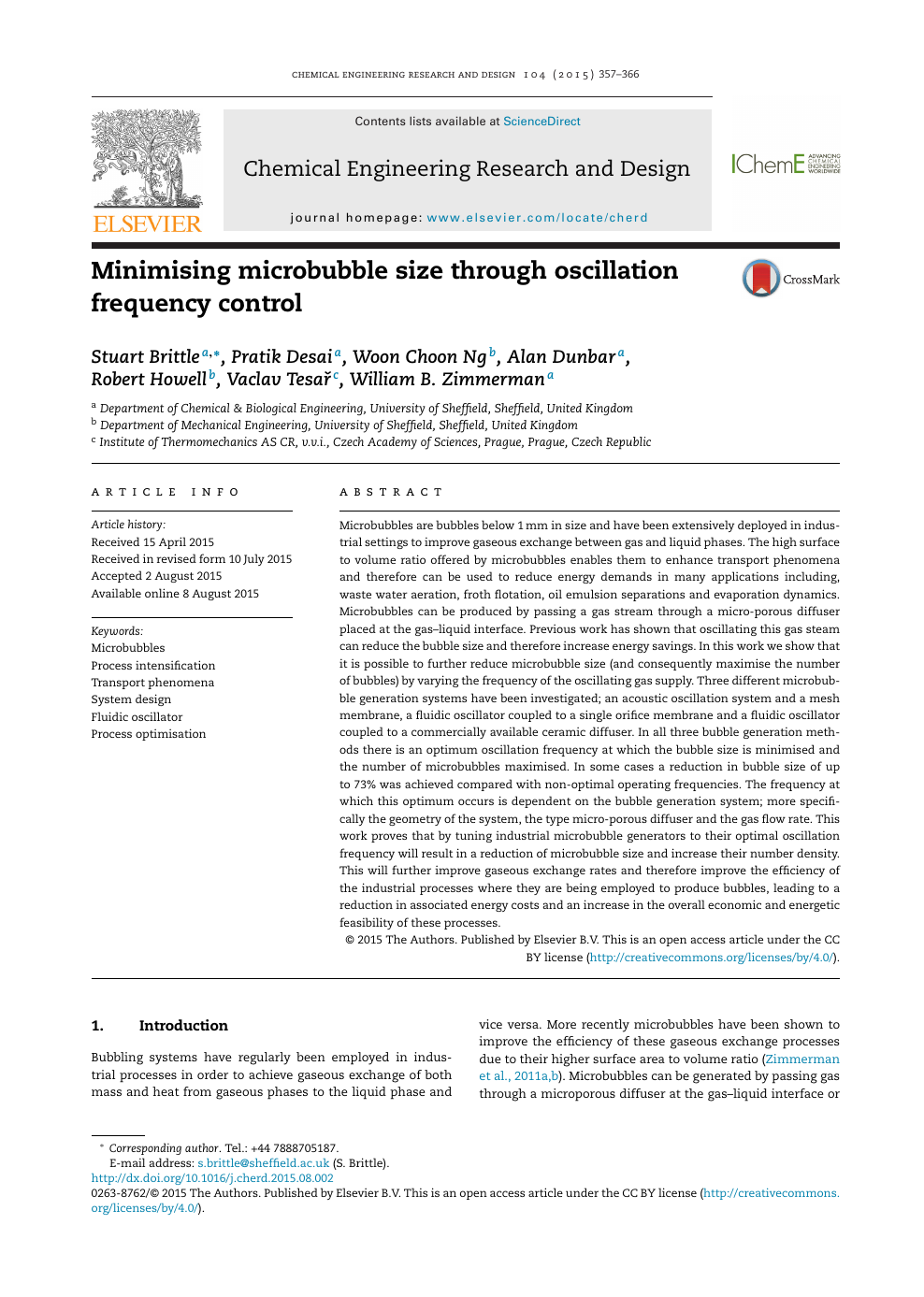 Minimising Microbubble Size Through Oscillation Frequency Control Topic Of Research Paper In Chemical Engineering Download Scholarly Article Pdf And Read For Free On Cyberleninka Open Science Hub