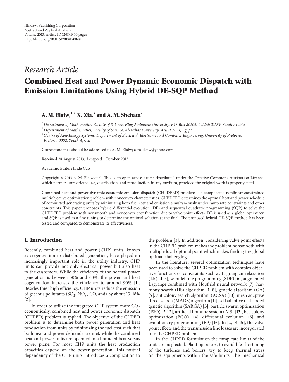 Combined Heat and Power Dynamic Economic Dispatch with