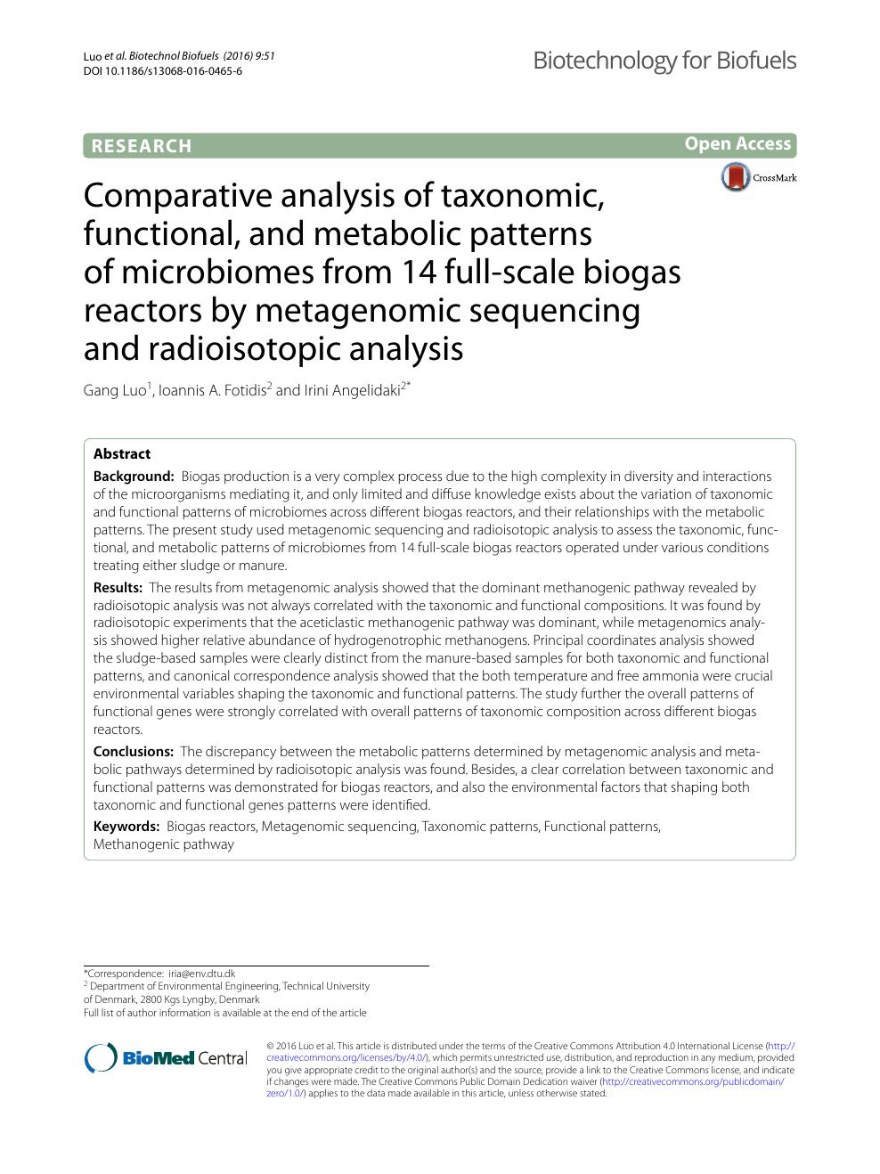 Comparative analysis of taxonomic, functional, and metabolic
