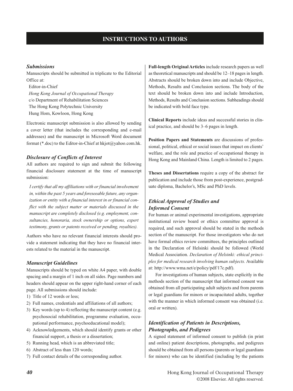 Cover Letter Occupational Therapy from cyberleninka.org