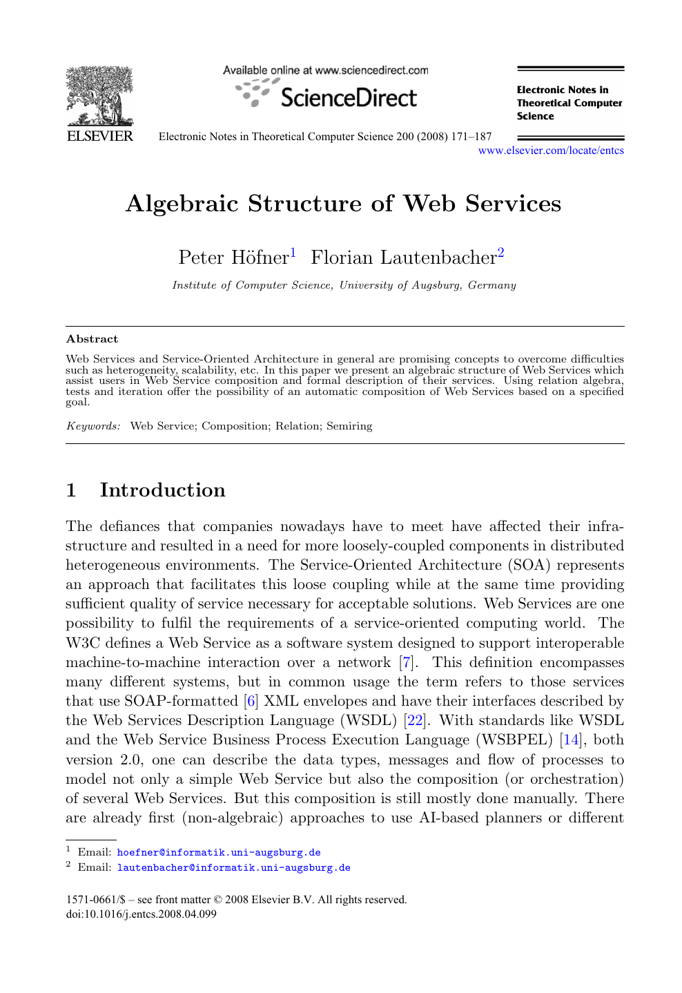 Web services research paper