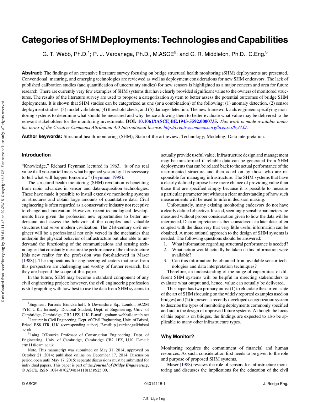 Categories Of Shm Deployments Technologies And Capabilities Topic Fig2 Bridged Amplifier 35w 8 Read Paper