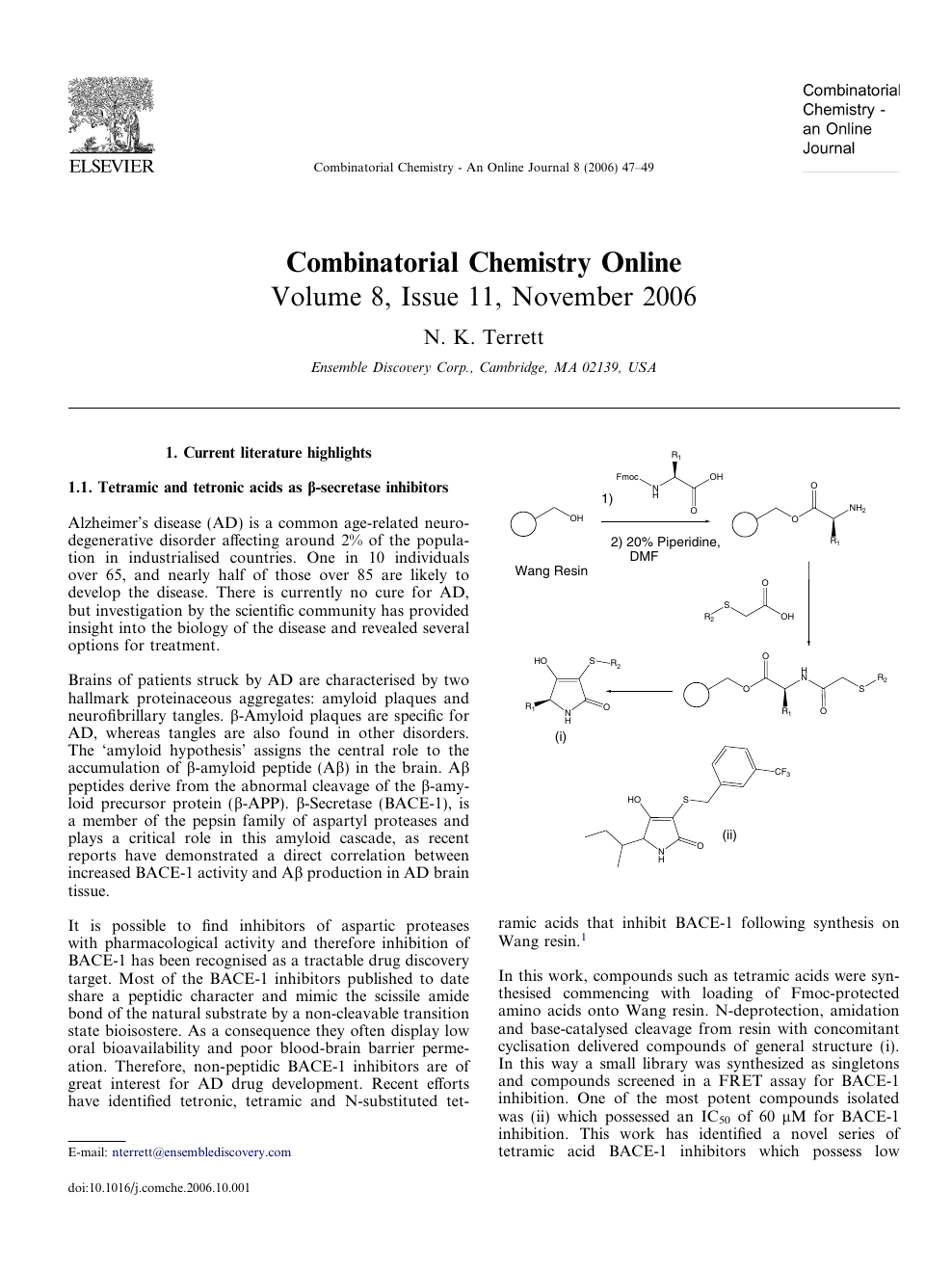 international research journal of chemistry