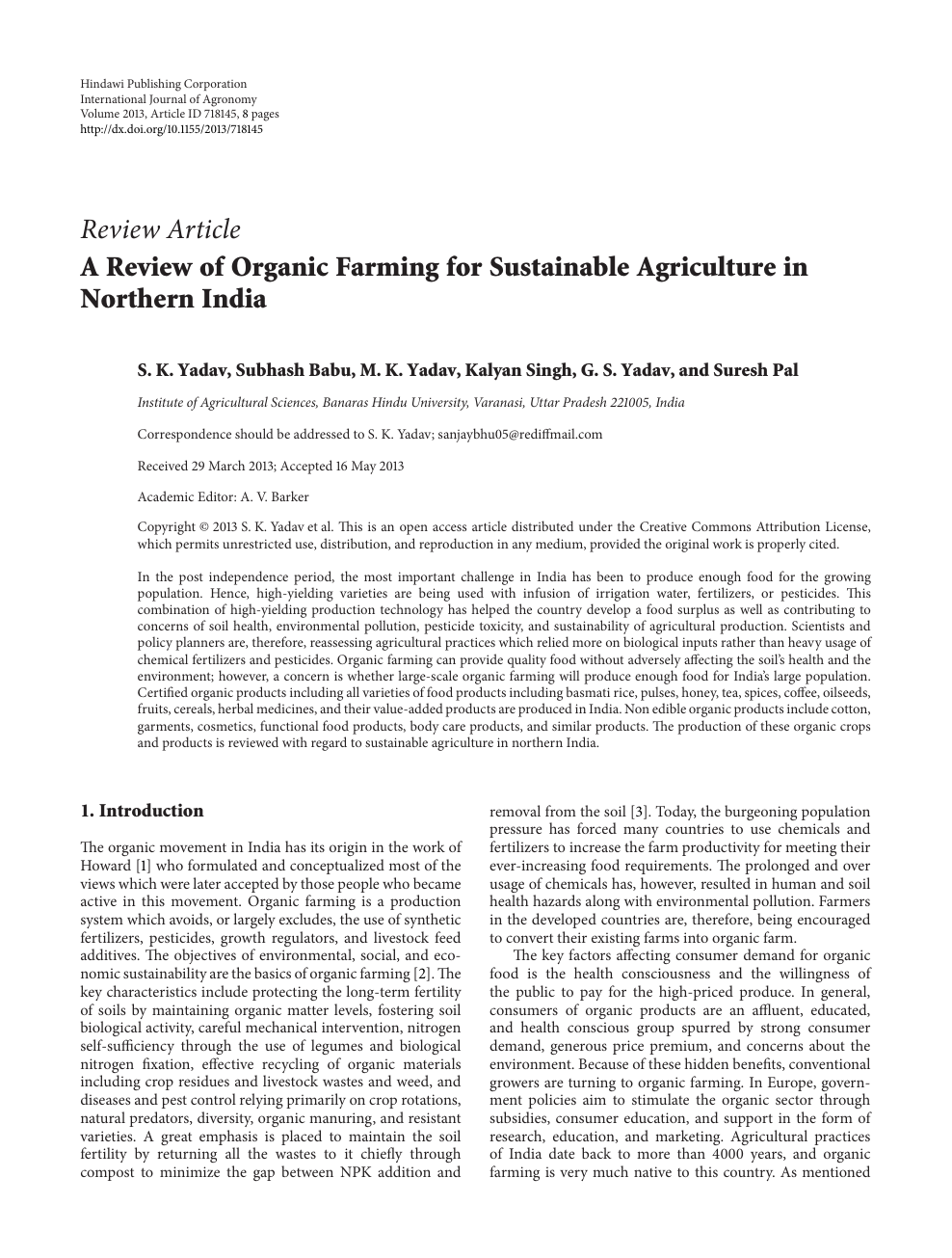 organic farming uttar pradesh