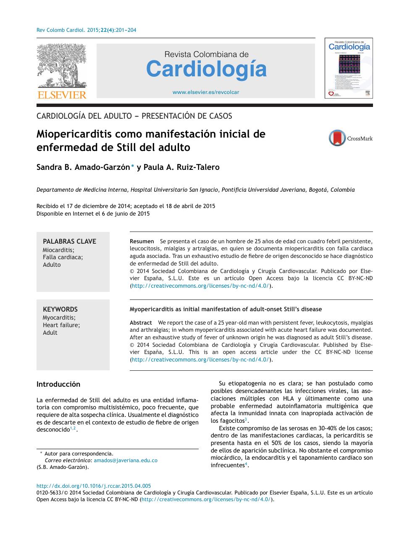 insuficiencia cardiaca stevenson b