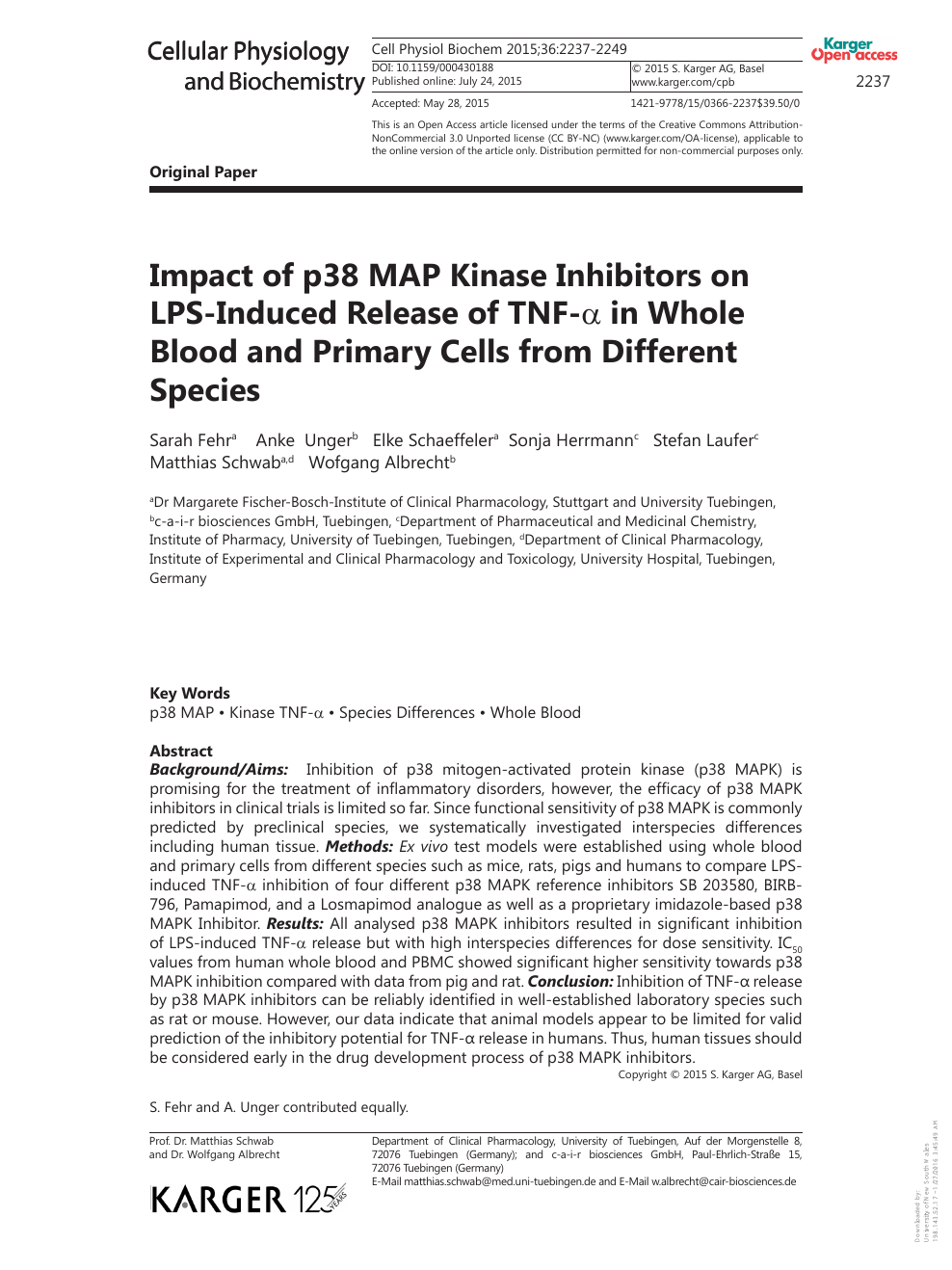 Impact of p38 MAP Kinase Inhibitors on LPS-Induced Release ... on mtor inhibitor, protein kinase inhibitor, pi 3 kinase inhibitor, tyrosine kinase inhibitor, jak kinase inhibitor,