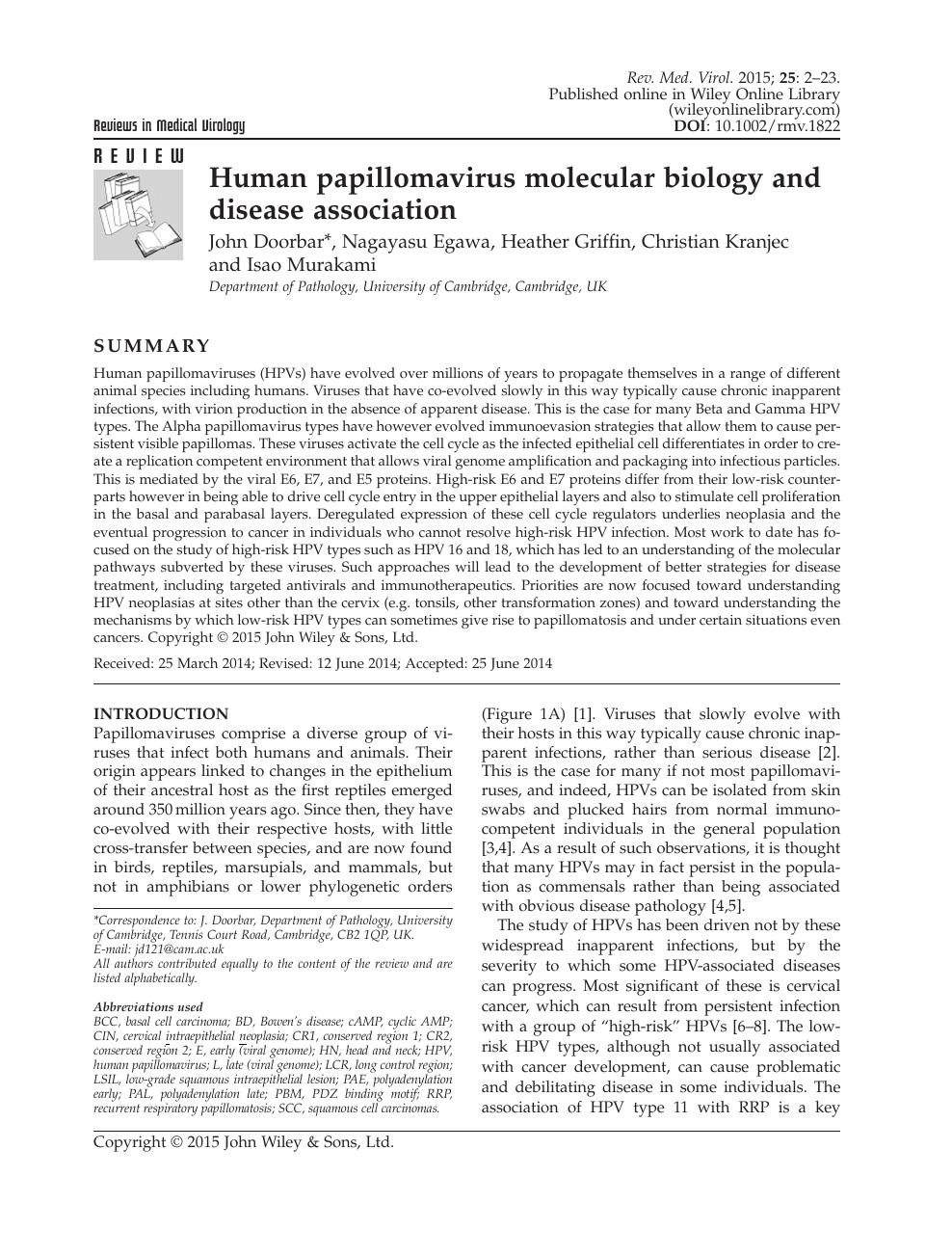 Humán papillomavírus hpv uk -