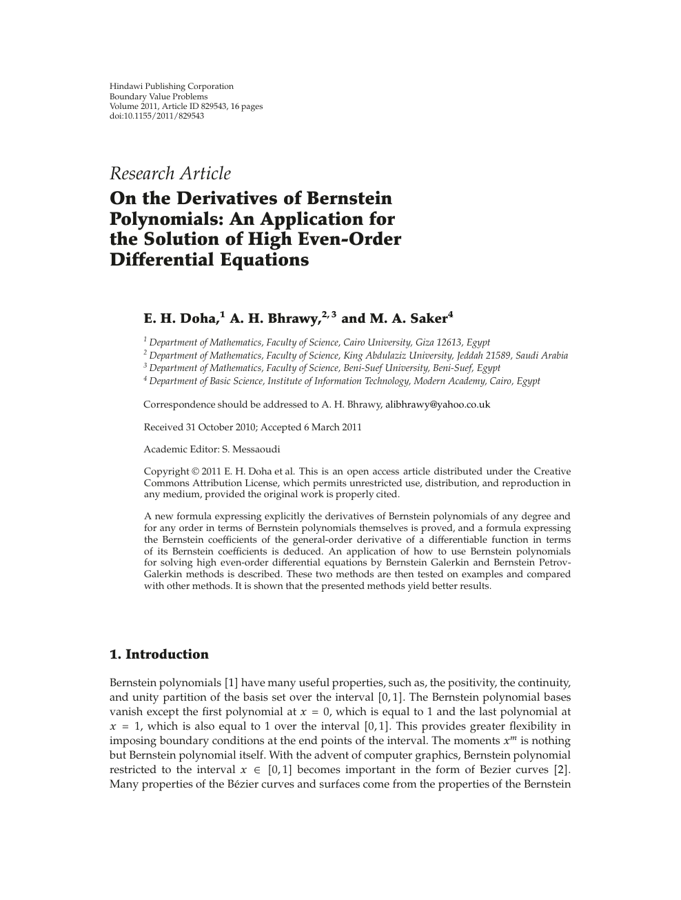derivatives research papers