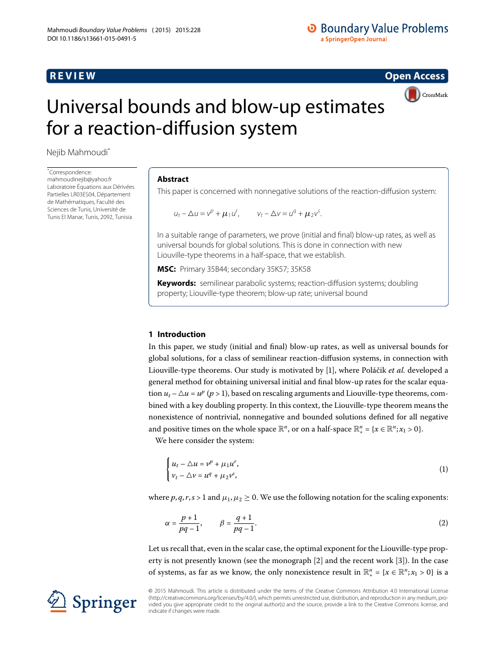 On the existence of blowing-up solutions for a mean field equation