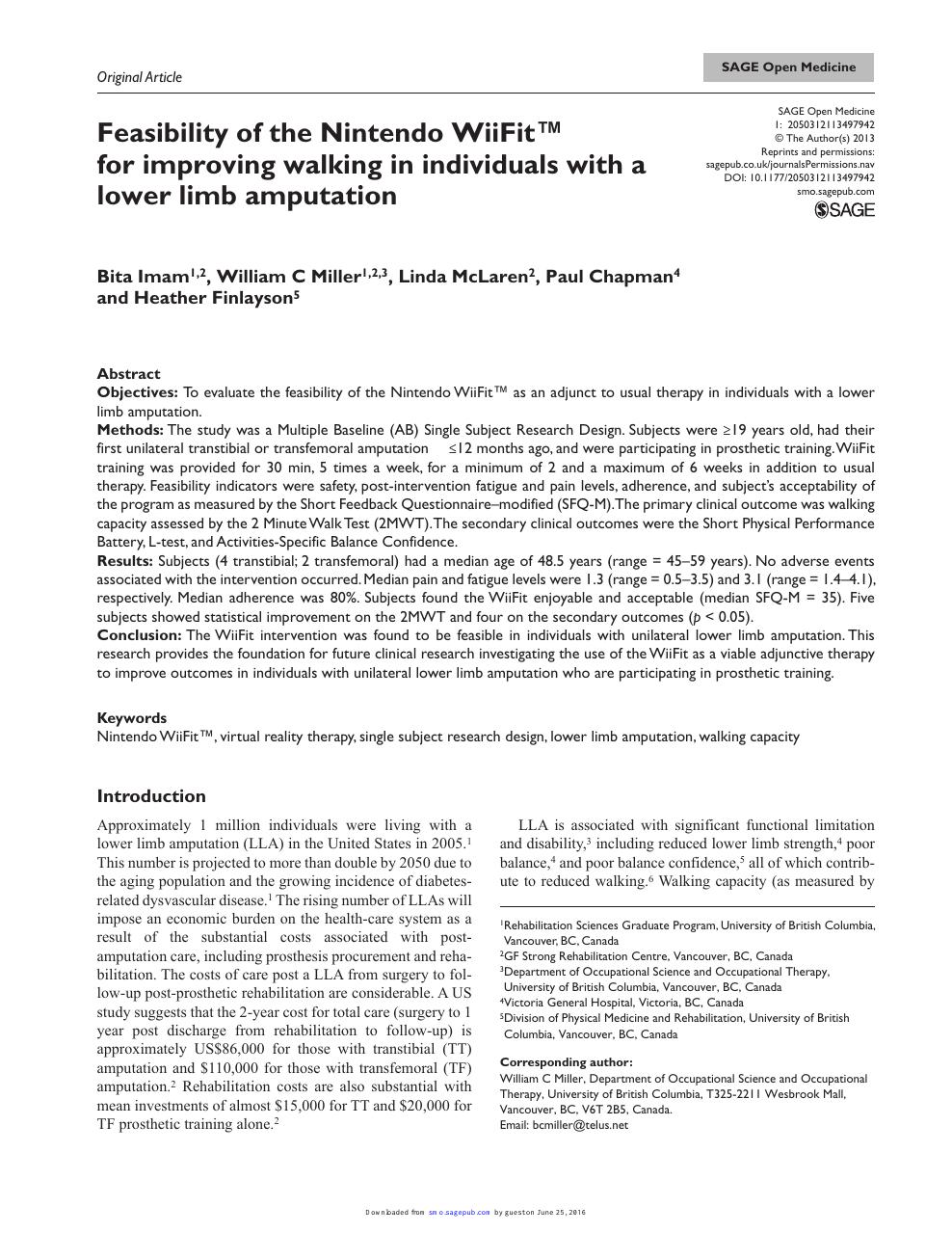 peripheral vascular disease with amputation evolve case study