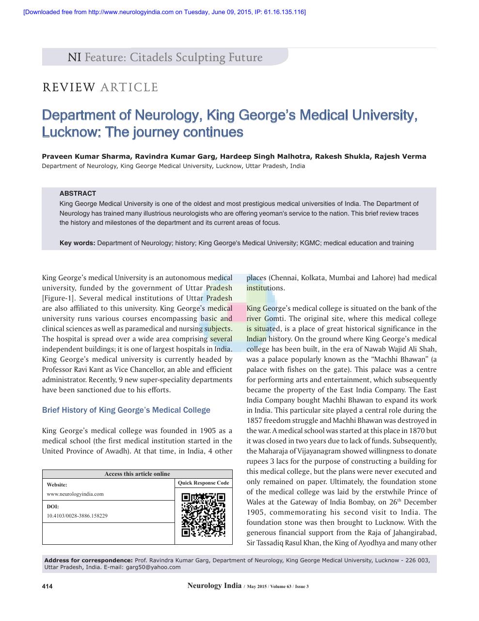 kgmc thesis topics