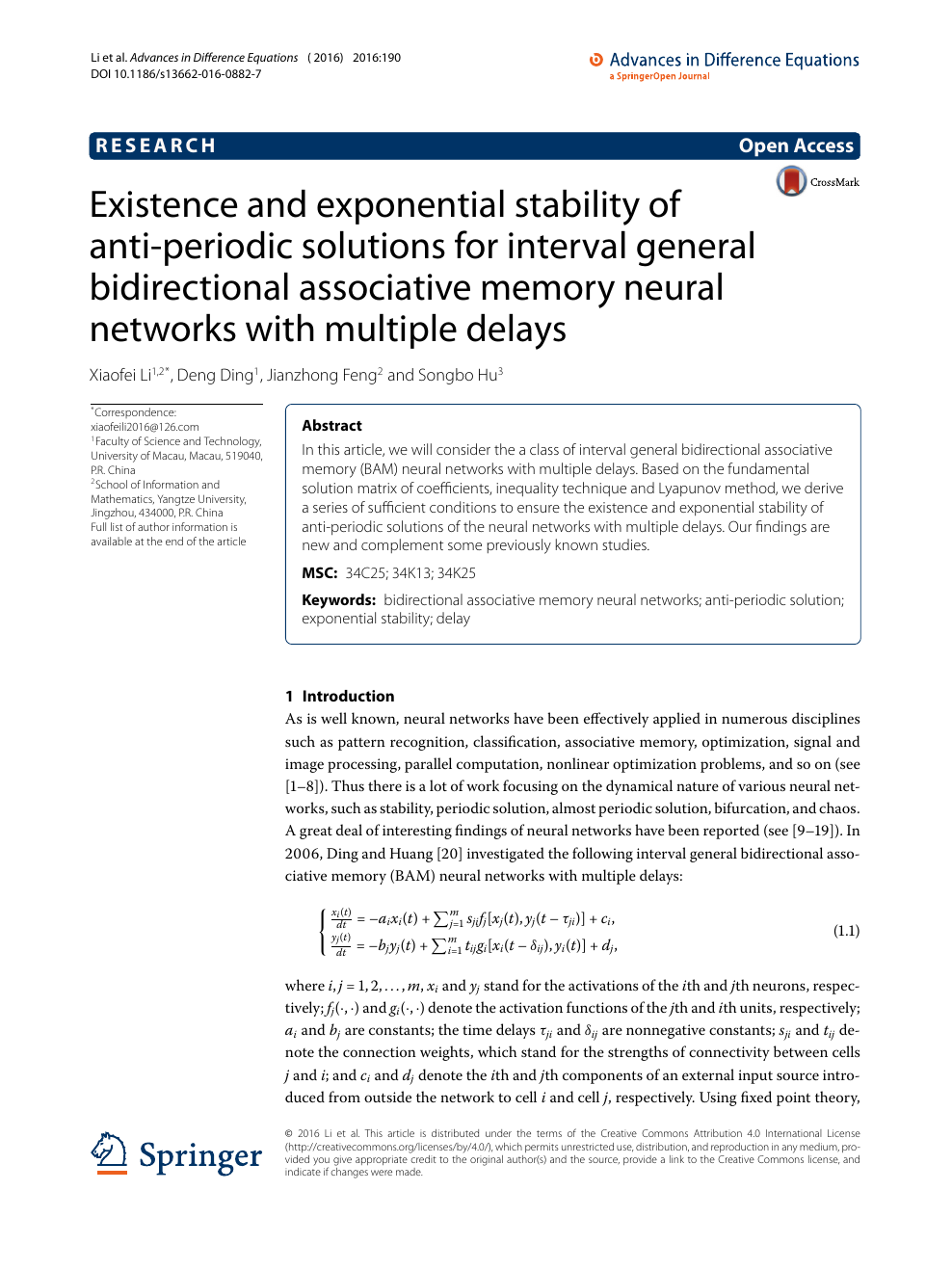 Existence and exponential stability of anti-periodic