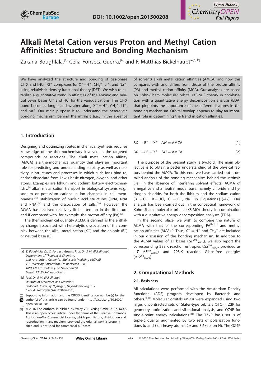 Alkali Metal Cation versus Proton and Methyl Cation