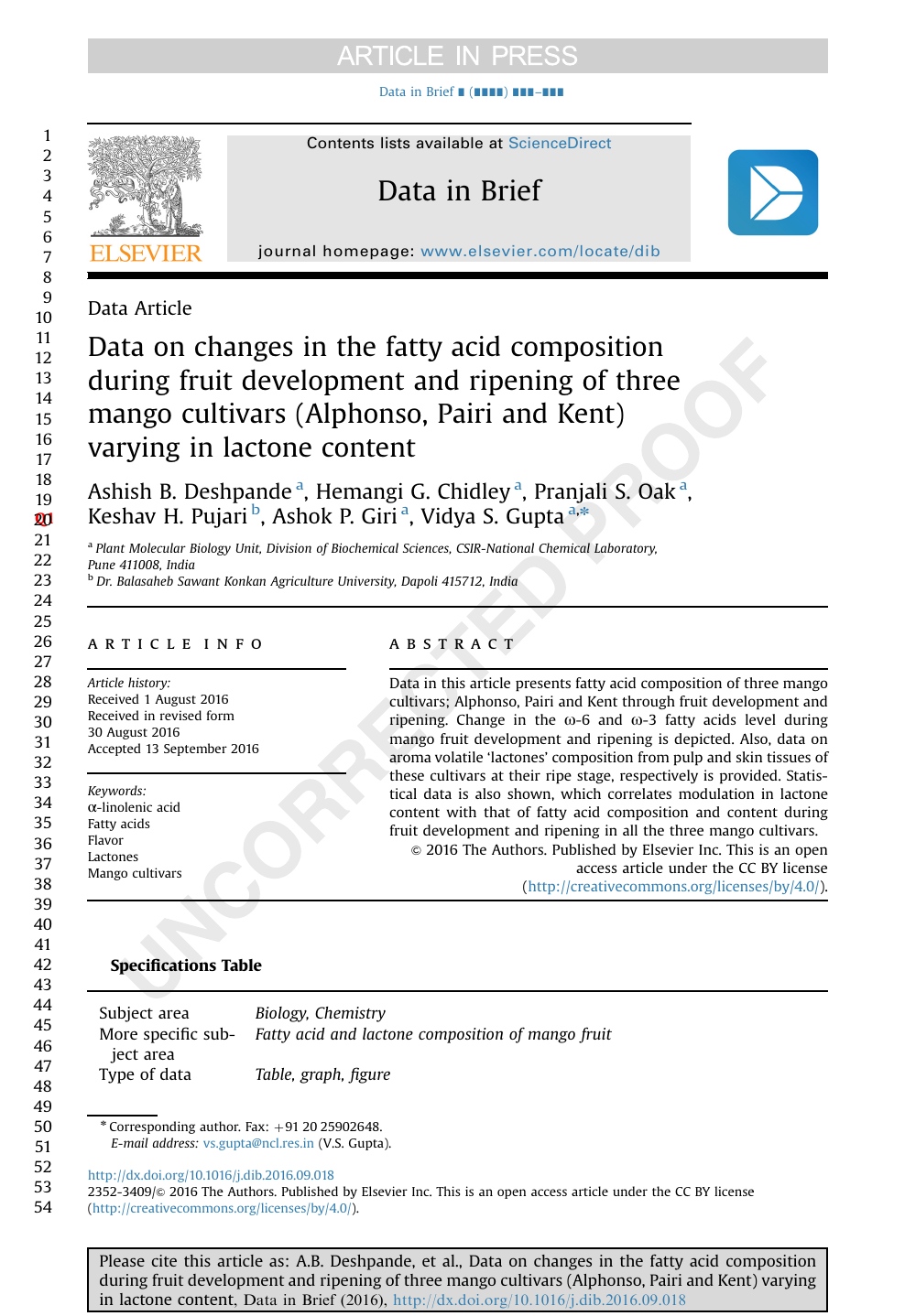 Fruit maturation of Biochemistry biology and molecular