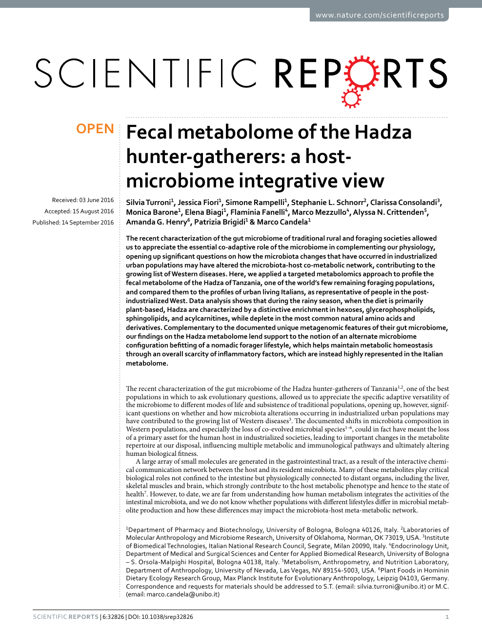 86f0b0488 Fecal metabolome of the Hadza hunter-gatherers  a host-microbiome ...